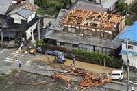 【動画】突風4人けが、数十軒被害 電柱や樹木倒れ停電も 滋賀県米原市
