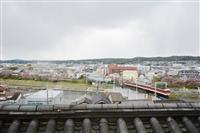 【鉄道アルバム・列車のある風景】神戸電鉄/戦国の戦場も今は静かに
