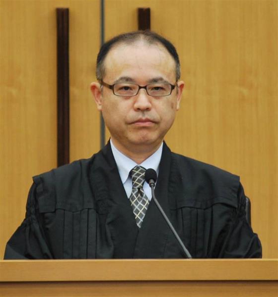 野原俊郎裁判長=6日、千葉地裁(代表撮影)