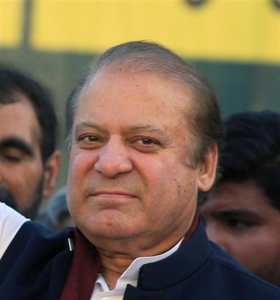 パキスタンのシャリフ元首相(ロイター)