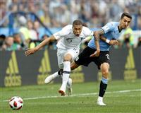 【ロシアW杯】フランスが準決勝一番乗り、ウルグアイに2-0