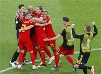 【ロシアW杯】日本が惜敗したベルギー、ブラジル破る フランスと4強入り