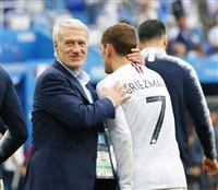 【ロシアW杯】仏のディディエ・デシャン監督「勝利に値」 ウルグアイのオスカル・タバレス…