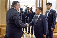 【激動・朝鮮半島】非核化の履行・検証へ作業部会 訪朝のポンペオ氏、北朝鮮側と合意
