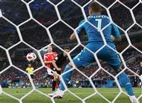 【ロシアW杯】開催国ロシア、PK戦で力尽く クロアチアが準決勝へ