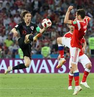 【ロシアW杯】満身創痍で勝利したクロアチア 「美しくなかったが素晴らしい結果」と監督