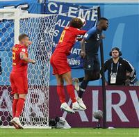 【ロシアW杯】仏代表、98年準決勝と共通点 DFが得点、監督は元守備的MF