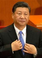 中国の習近平国家主席。「負債問題」が中国経済に重くのしかかる=今年5月、北京(AP)