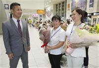 中国から初の介護技能実習生 女性2人が宮崎で勤務