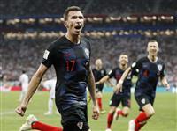 【ロシアW杯】マンジュキッチが決勝点 延長戦制したクロアチアが初の決勝進出