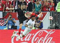 【ロシアW杯】ペリシッチが1ゴール1アシスト クロアチアを史上初の決勝に導く