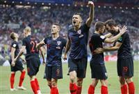 【ロシアW杯】記録ずくめのクロアチア 3戦連続延長で決勝進出