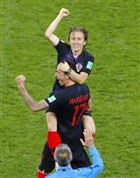 【ロシアW杯】クロアチアのモドリッチが通算11試合出場 最多記録並ぶ