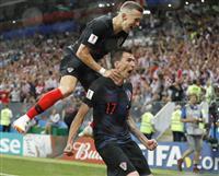 【ロシアW杯】クロアチアが初の決勝 3戦連続延長で劇的逆転 驚異のスタミナ