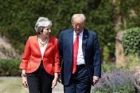 EU離脱を前に米国との友好ムード演出で経済関連の議論前進へ メイ英首相