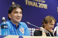 【ロシアW杯】初の決勝「偉大な一戦」 クロアチア監督が抱負