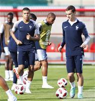 【ロシアW杯】フランス2度目Vか、クロアチア初制覇か 注目の決勝、速報します