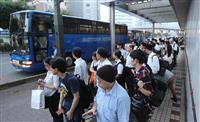 【西日本豪雨】JR不通の呉-広島に特例バス 緊急車両用区間走行 JRと広島電鉄