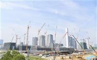 【東京五輪】東京都が競技会場と選手村を公開 工事進捗率20~40%