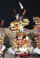 2年ぶりに集団顔見世 日田祇園祭 女性ばやしも登場