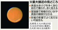 【火星大接近】赤い惑星の「天体ショー」 見どころは模様の変化