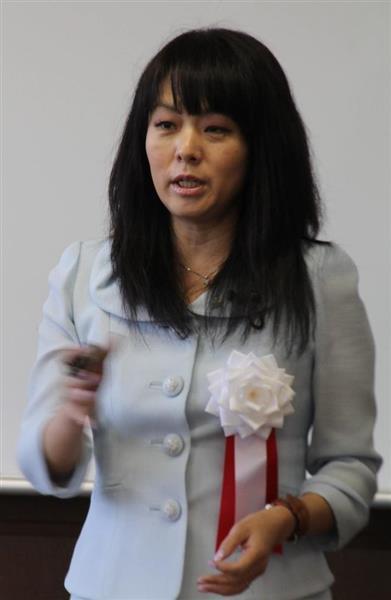 杉田水脈衆院議員(小林宏之撮影)