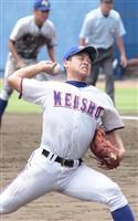 【高校野球茨城大会】明秀日立・細川拓哉投手 「ここが終わりではない」