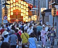 【大阪特派員】山上直子 古都と商都の静かな夏祭り