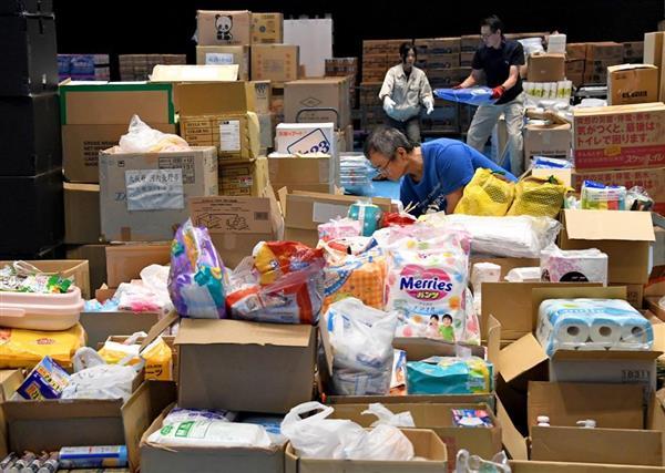 西日本豪雨】被災者ニーズとのミスマッチ、新たな課題-供給過多の物資 ...