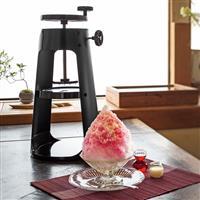 この夏の家族団らんに ふんわり氷が作れる本格かき氷器
