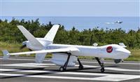 海上監視、大型無人機の活用期待 長崎・壱岐で試験飛行、性能アピール 米メーカー、売り込…