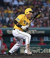 【プロ野球】神6-3広 阪神打線が三回に集中打 本拠地の虎党沸く