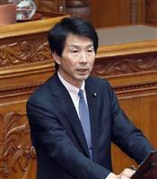 国民民主党の大塚耕平共同代表(春名中撮影)