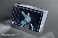 3Dモデルを立体視できる箱形ディスプレイが米で登場 手の動きなど反映する機能も