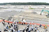 2020年東京五輪・パラリンピックまで2年 新国立、競技会場の建設現場公開ルポ 徐々に全貌…炎天下の大会、カギは暑さ対策