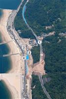 """【動画・西日本豪雨】土砂崩れの国道31号、異例の""""裏技""""で短期間復旧も渋滞慢性化 広島…"""