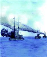 【昭和天皇の87年】死闘!黄海海戦 運命の一弾が敵の司令長官を吹き飛ばした
