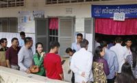 【カンボジア総選挙】圧力恐れ物言えぬ市民 首都プノンペンに選挙の熱気なく