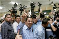 【カンボジア総選挙】「投票数の80%を獲得」 与党広報官が圧勝見通し表明