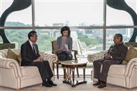 """マハティール首相、王毅外相に一帯一路で「積極的支持」を表明 マレーシアの対中""""懐柔策""""…"""