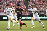 【Jリーグ】C大阪、神戸と1-1の痛み分け 主力復帰は好材料