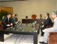 東電社長が新潟県知事と初会談 県安全性検証に「最大限の協力」 再稼働に理解求める