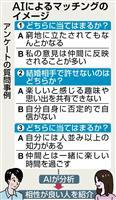 AI活用し婚活サポート 埼玉県がセンター開設、10月から紹介開始