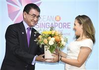 南シナ海、名指し避けつつ中国に自制促す ASEAN外相会議、北非核化も協議