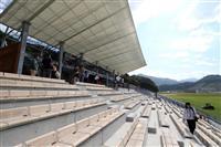 釜石スタジアム公開 復興のシンボル「感謝伝えたい」