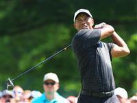 【男子ゴルフ】ウッズは伸ばし切れず 首位と5打差の10位タイ