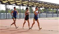 【陸上】男子競歩陣、厳しい暑さの東京五輪想定し都内で合宿 データも測定