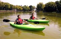 公園でアウトドア つくば市が実証実験 カヌーやバーベキューなど体験 茨城