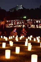 【動画】古都の夜彩る光 「なら燈花会」始まる