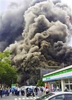 【衝撃事件の核心】作業員ら飲み込んだ黒煙…多摩建設現場火災 「火気厳禁」の場所など残る…